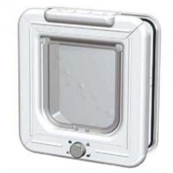 Elite Cat Mate Puerta 4-Way Blanco