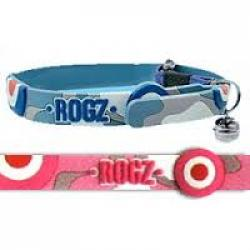 Rogz Elastocat Collar para gato Color Rosa 11 mm