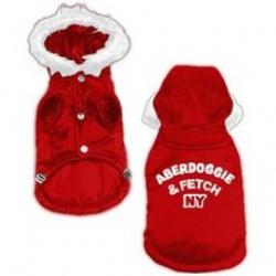 Aberdoggie and Fetch NY Abrigo Rojo L