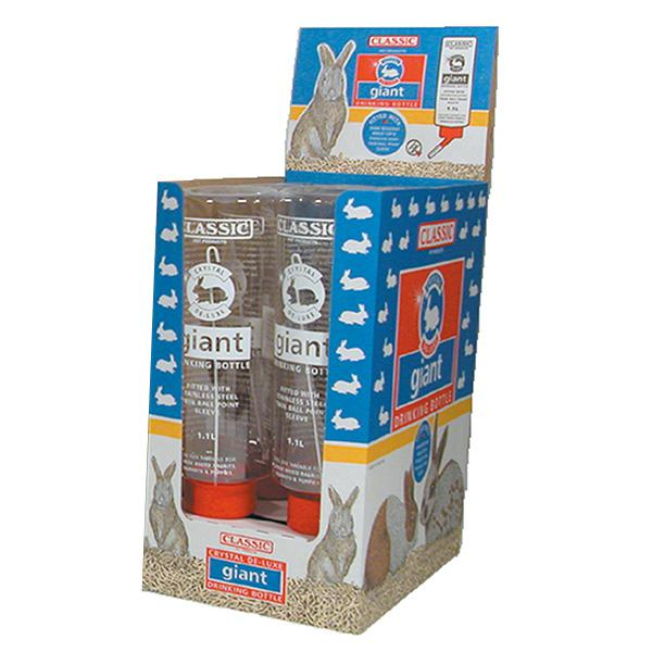 Classic For Pets Deluxe Giant Bottle para conejos 1100 ml