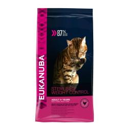 Eukanuba Adult Sterilised Light Weight Control Gatos 400g
