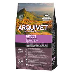 Arquivet Natural Food Adult Cordero y Arroz 3kg