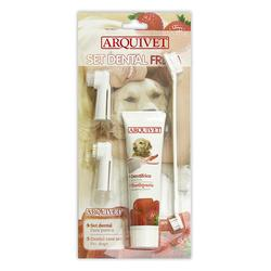 Arquivet Set Dental Sabor Fresa