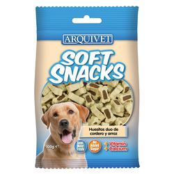 Arquivet Soft Snacks Huesitos Sabor Cordero y Arroz 100g