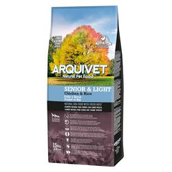 Arquivet Natural Food Sénior & Ligero Pollo y Arroz 15kg
