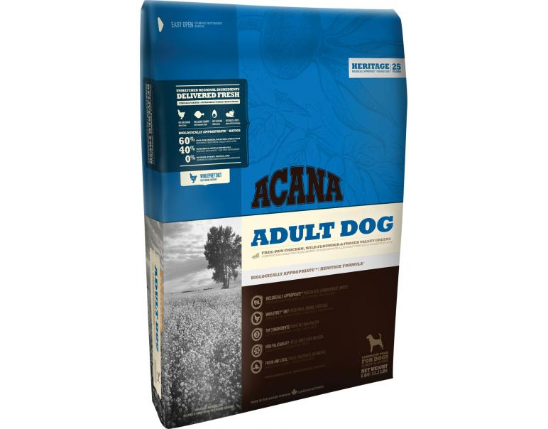 Acana Heritage Adult Dog 17kg