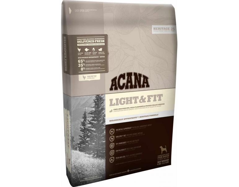 Acana Heritage Dog Light & Fit 11,4Kg
