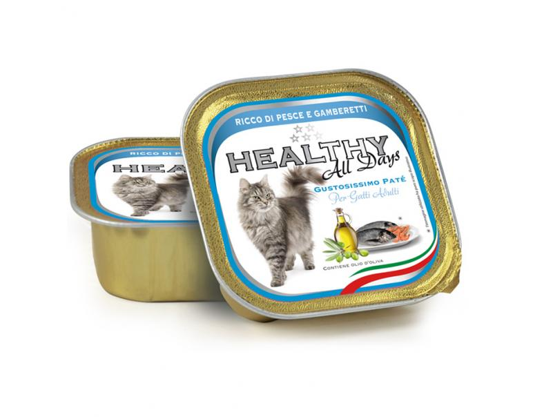 Kippy Healthy All days Pescado y Gambas 100g