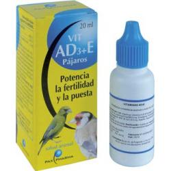 Pax Farma Apareamiento Aves AD3+E 20 ml
