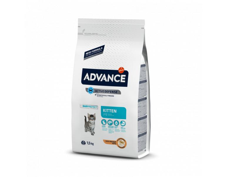 Advance Kitten Chicken & Rice 1.5 kg