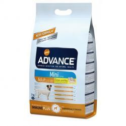 PACK AHORRO Advance Mini Adult Chicken & Rice 2 x 7,5kg