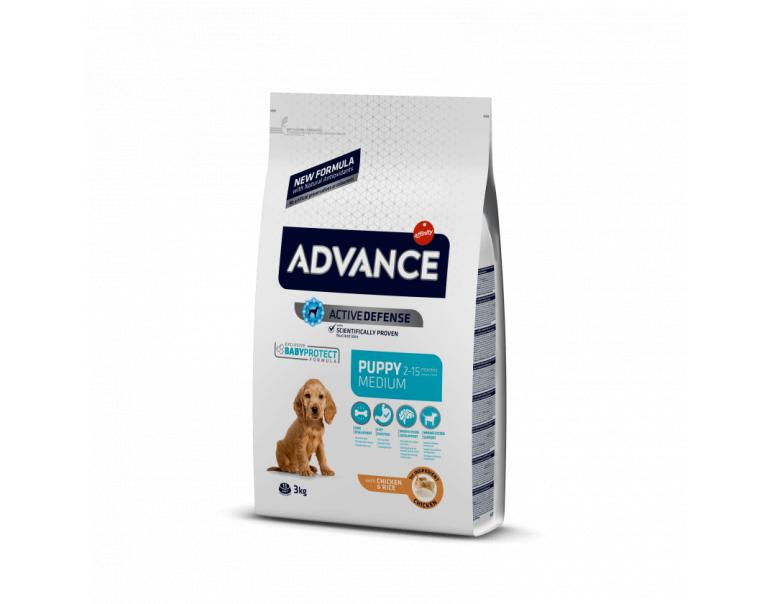 Advance Puppy Protect Medium Chicken & Rice 3Kg