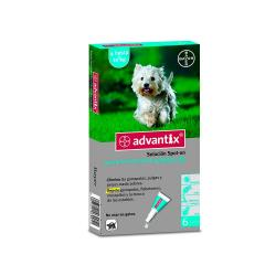 Advantix  6 Pipetas Spot-on Perro 4-10kg