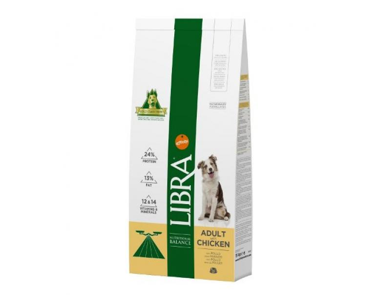 Affinity Libra Dog Adult Pollo 15 kg