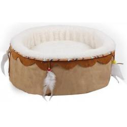 AFP Cama para Gatos Dreams Color Beige 41x41x18cm
