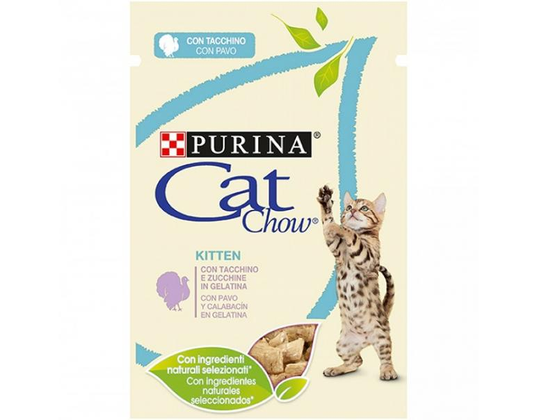 Purina Húmedo Gatos Junior Pavo/Calabaza 85 g