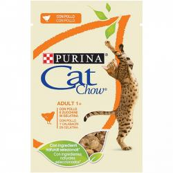 Purina Cat Chow Adulto Pollo y Calabaza 85g