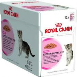 PACK AHORRO Royal Canin kitten Instinctive Salsa 6x85gr