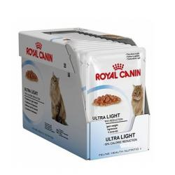 PACK AHORRO Royal Canin Ultra Light Gelatina 12x85gr