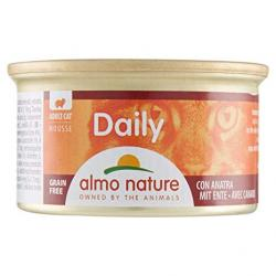 Almo Nature Mousse Adult Cat de Pato Alimento para Gatos 85g