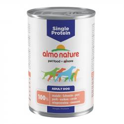 Almo Nature Single Protein Adulto con Cerdo 400g