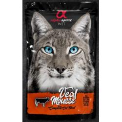 Alpha Spirit Mousse De Ternera Gato Adulto 85 g