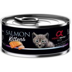 Alpha Spirit Wet Cat Kitten Salmón 85g