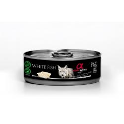 Alpha Spirit Wet Cat Pescado Blanco 85g