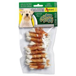 Antos Chicken D'light Calcium Snack para Perros 100g