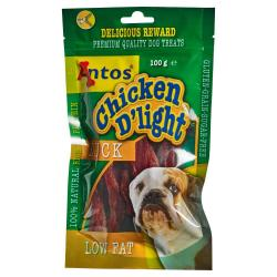 Antos Chicken D'light Pato Snack para Perros 100g