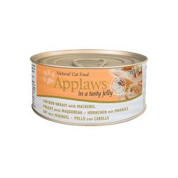 Applaws Cat Jelly Lata Pollo/Caballa 24x70g