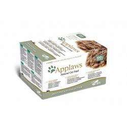 PACK AHORRO Applaws Cat Tasty Multipack Pescado 4 Unidades (8x60gr)
