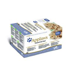 PACK AHORRO Applaws Cat Tasty Multipack Pollo 4 Unidades (8x60gr)