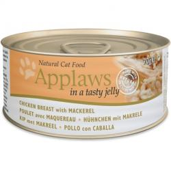 Applaws Cat Jelly Lata Pollo y Caballa Lata 70g