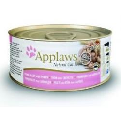 Applaws Cat Lata Atún Gambas 70g
