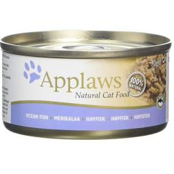 Applaws Cat Pescado Alimento Húmedo para Gatos 70g