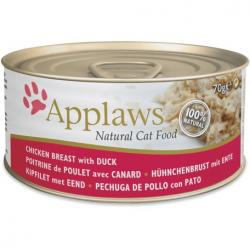 Applaws Gato Adulto con Pollo y Pato 70g