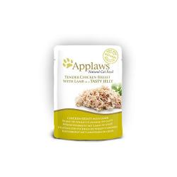 Applaws Jelly Pouch pollo & cordero 70g