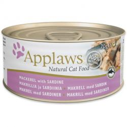 Applaws Kitten Latas Sardina 70gr