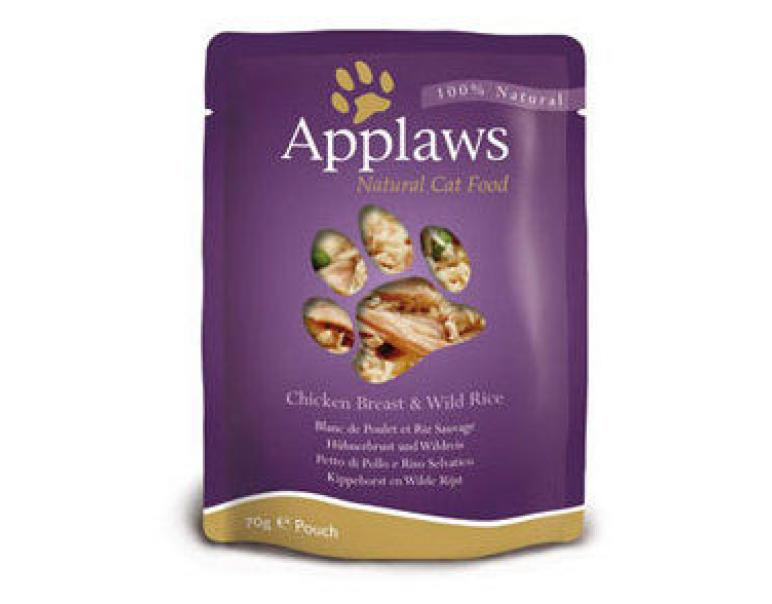 Applaws Pouch pollo & arroz salvaje 70g