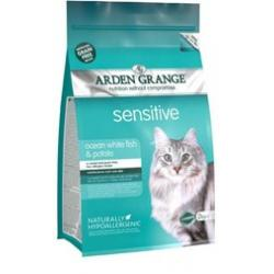 Arden Grange Pienso Gato Adulto Sensitive 4 kg