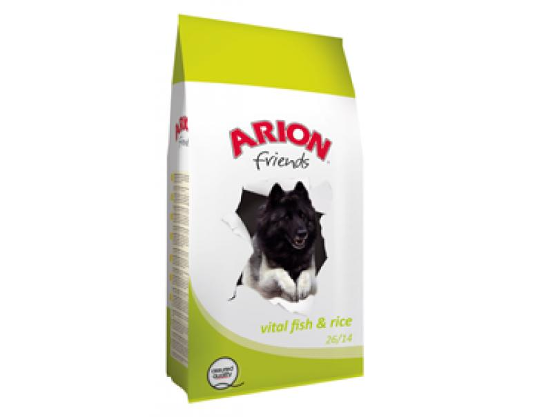 Arion Friends Fish & Rice Saco de 15 kg