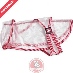Arppe Impermeable Perros Rojo M 40 cm