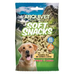 Arquivet Soft Snacks Huesitos Cordero y Arroz 100g