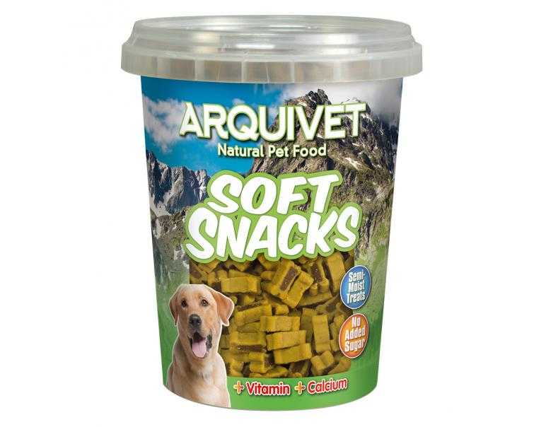 Arquivet Soft Snacks Huesitos Duo Pollo-Caza 300g