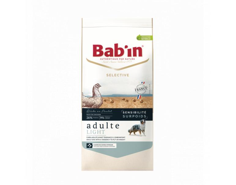Bab'in Sensitive Adult Light Pienso Perros 3kg