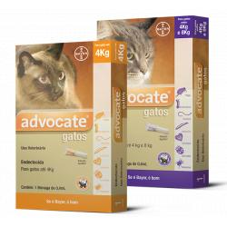 Bayer Advocate Gatos Hasta 4 kg 21 Pipetas x 0.4 ml