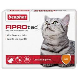 Beaphar Fiprotec Spot On Gato 4 uds x 0,5ml