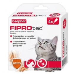 Beaphar Fiprotec Spot On Gato 4x0,5ml