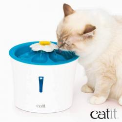Catit Bebedero Fuente Flower Fountain con Led
